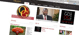 Organo Gold Media built by Kelowna Web Design : New Media Syndicate